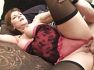 Wendy 3 mature top rated stockings