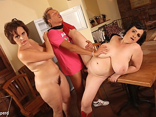 Dragan & Magalie & Martine in Mature Fatties - KINK bbw big ass big tits