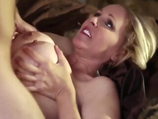 Bebe Boobs Together with Julia Ann In Horny Mom Fucked Indestructible By Young Boy american anal big tits