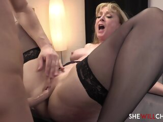 Nina Hartley Fucks Some Sense Into Their way Personal Assistant big tits blonde hd